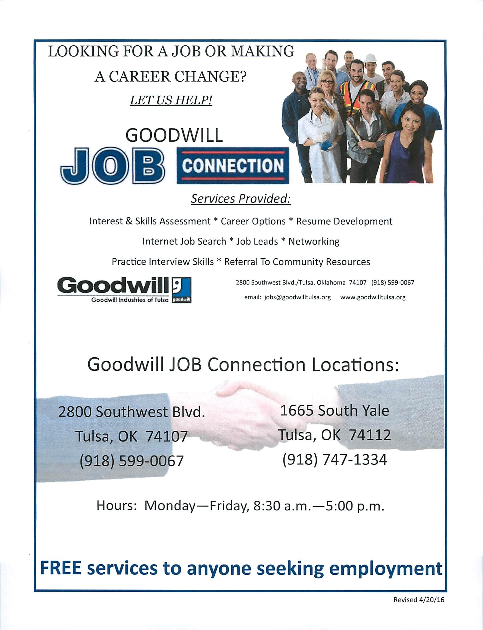 Goodwill Job Training Career Prep Classes Orientation 75 News