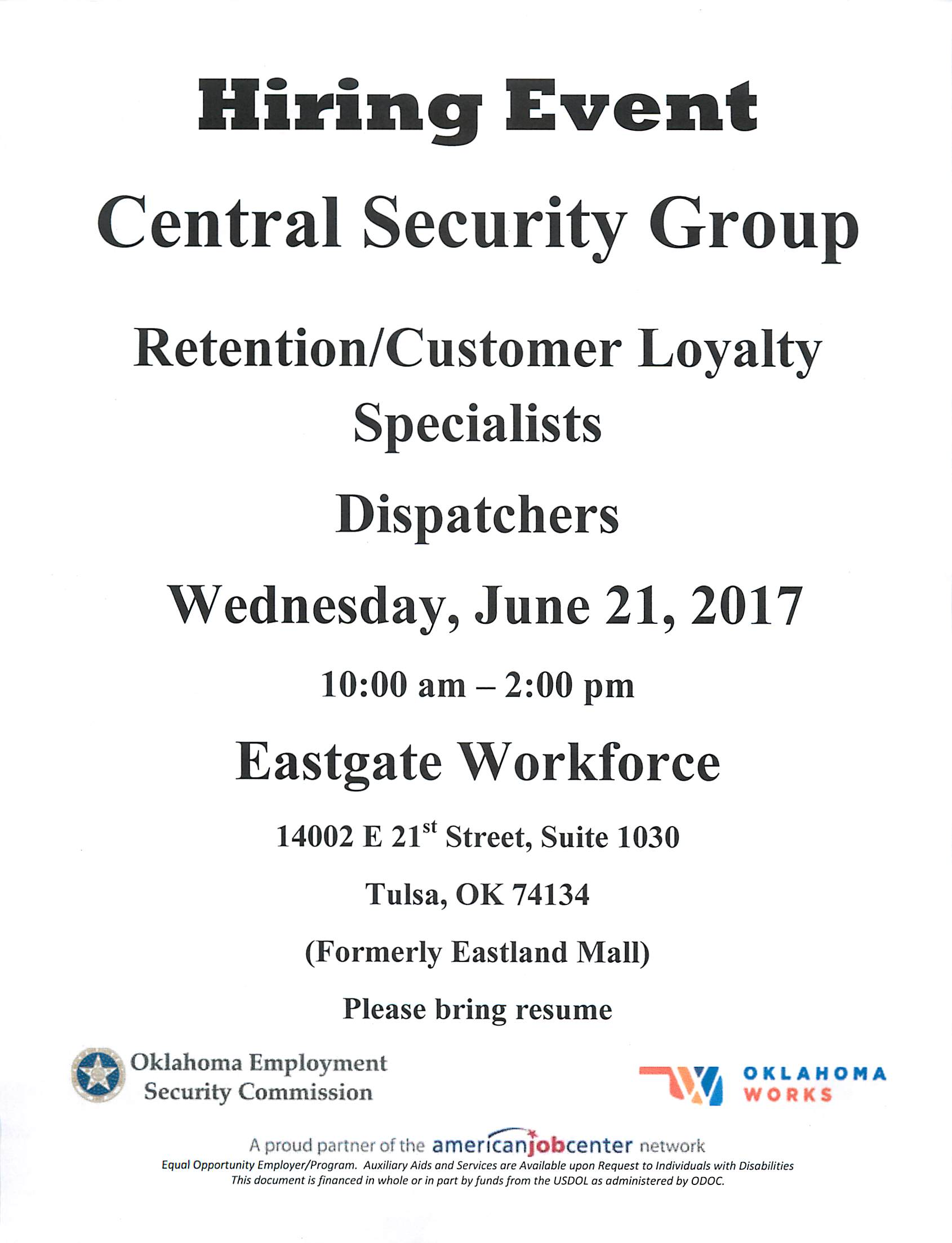 Event Security Hiring